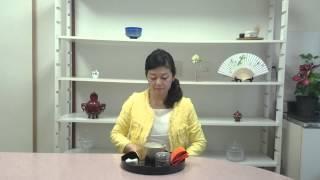 盆略点前 ~自服~ the Way of Tea on the table (Bonryaku-demae)