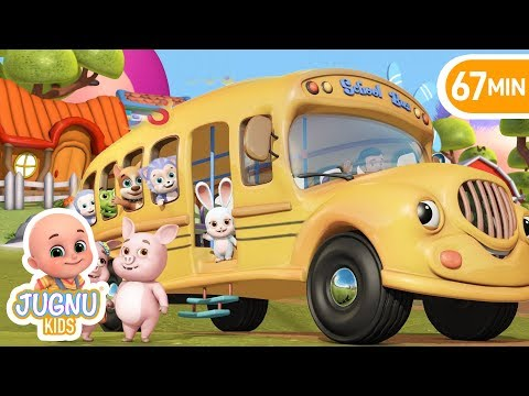 Xxx Mp4 The Wheels On The Bus Animal Sounds Education Nursery Rhymes Compilation From Jugnu Kids 3gp Sex