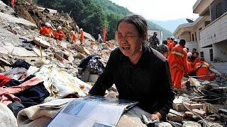 Ötven óra a romok között a dél-kínai földrengés után