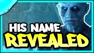 Evidence that the Night King's Name is JON SNOW | Game of Thrones Season 8 Theories