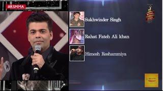 Karan Johar rates the Bollywood singers & actors with Sonu Nigam | Softy with Sonu | #RSMMA