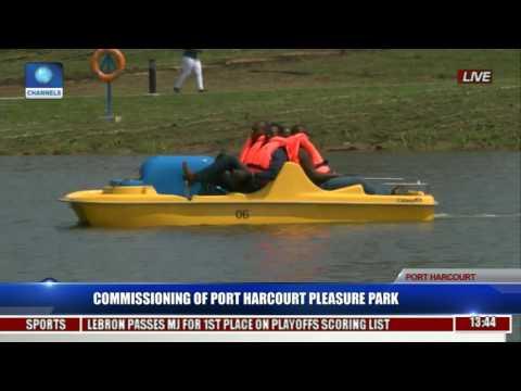 Commissioning Of Port Harcourt Pleasure Park Pt. 4