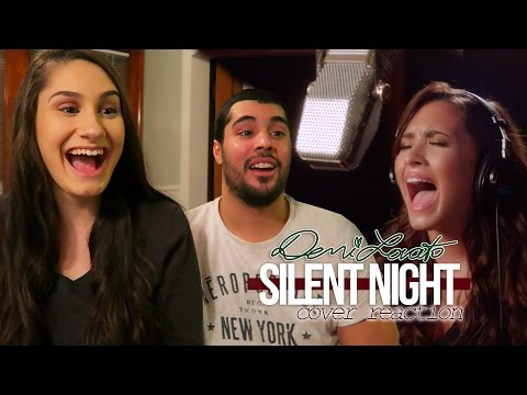 Demi Lovato - Silent Night REACTION