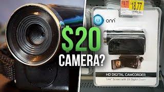 $20 CAMERA FROM WALMART?!! // How B̶a̶d̶ Good Is It?