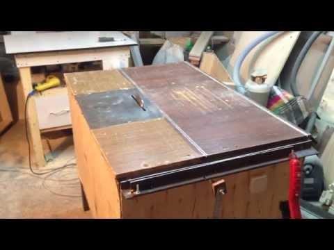 Самодельный распиловочный стол из ручной циркулярной пилы