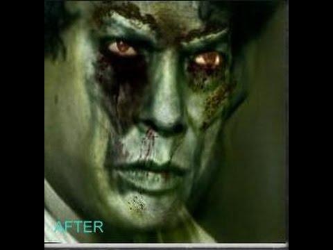 Bangladeshi Actors Zombie Look Mosharaf Karim , Jahid Hasan , Hasan Masud
