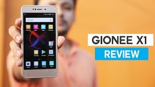 Gionee X1 Review!