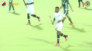 Japan VS Oman 4 4 Oman triangular hockey tournament