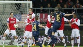 Loeiharde vrije trappen in de Eredivisie