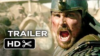 Exodus: Gods and Kings Official Trailer #2 (2014) - Christian Bale, Aaron Paul Movie HD