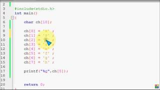 Bangla C programming tutorial 52 String Basic Difference Between char array & string   YouTube