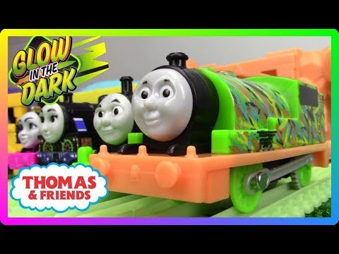 Xxx Mp4 NEW TrackMaster HYPER GLOW PERCY Thomas And Friends Thomas Nia Ashima Toy Trains For Kids 3gp Sex