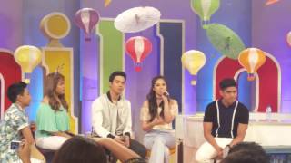 Janella Salvador sings on ASAP Chillout