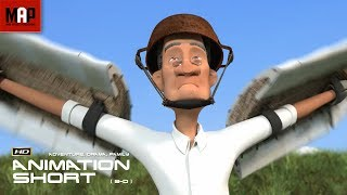 "CGI 3D Animated Short Film ""OUT OF THE BLUE"" Heart Touching Animation by Takanobu Hirano"