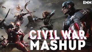 Captain America: Civil War Mashup Full HD