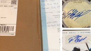 AWESOME FAN MAIL OPENING!  AUTOS, RELICS, PACKS AND MORE