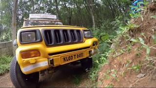 Our Mahindra 4x4 pickup Crazy drive in kerala Pathanamthitta Prakkanam..