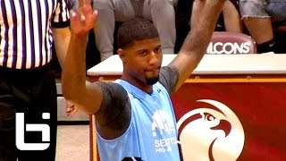 Paul George Drops 40 Points & a 360 Dunk at Seattle Pro Am!!