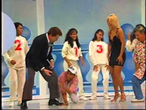 Programa Silvio Santos Relembre Silvio dança com Carla Perez