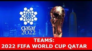 2022 FIFA WORLD CUP Qualifying Teams : PREDICTION || Qatar 2022 World Cup Teams