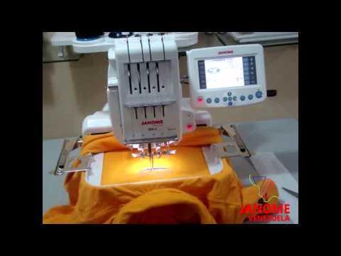 Maquina de Bordar Janome MB4 Vídeo Demostrativo