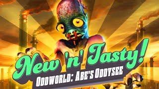 Oddworld: New 'n' Tasty! All Cutscenes (Game Movie) 1080p HD