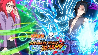 Team Hebi Arrives! Kirin Sasuke & Karin New Summon Banner! | Naruto Ultimate Ninja Blazing