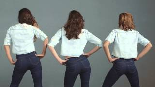 JEANIUS - THE PUSH UP JEANS ג'ינס הפוש אפ קסטרו 2014