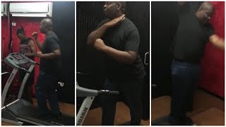 Don Jazzy's new workout music - #JenSimi 😂😂😂