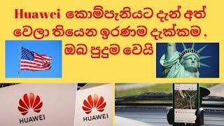 Huawei  කොම්පැනියට දැන් අත් වෙලා තියෙන ඉරණම දැක්කම , ඔබ පුදුම වෙයි