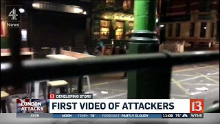 London attackers on video