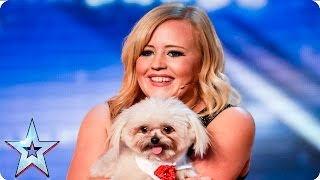 Dancing dog Trip Hazard has all the right moves  | Week 1 Auditions | Britain's Got Talent 2016