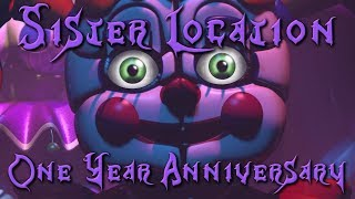 RoxasXIIIkeys plays: Five Nights at Freddy's: Sister Location LIVESTREAM | One Year Anniversary!