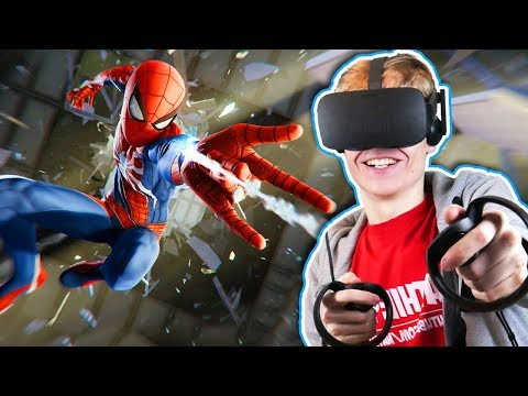 BECOME SPIDER MAN IN VIRTUAL REALITY Marvel United Powers VR Oculus Rift Touch Gameplay