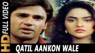 Qatil Aankhon Wale | Alisha Chinai | Hum Hain Bemisal 1994 Song | Madhoo, Sunil Shetty