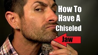 How To Have A Chiseled Jawline | Jaw Strengthening Tips And Tricks