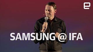 Samsung IFA 2017 Press Event in Under 6 Minutes