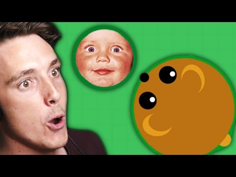 EATING FANS AND BABIES Mope.io