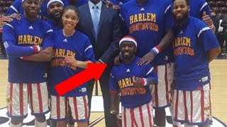 The Newest Member of the Harlem Globetrotters is LESS Than 5 Feet Tall!