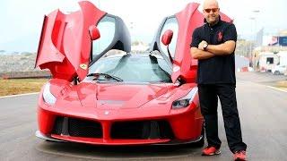 LaFerrari extreme drive on wet MotorShow exclusive تجربة قيادية حصرية لموتورشو لسيارة لا فيراري