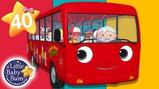 Wheels On The Bus - Part 18 | + More Nursery Rhymes & Kids Songs | Songs for Kids | Little Baby Bum
