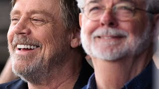 George Lucas Honors Mark Hamill at Hollywood Walk of Fame Ceremony