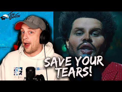 The Weeknd Save Your Tears OFFICIAL VIDEO REACTION HE PI ED ON THE GRAMMYS