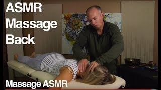 Relaxing Back Massage - ASMR