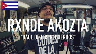 RXNDE AKOZTA - Baúl De Los Recuerdos ( Prod by Marrom Fernandez ) | TCE MIC CHECK