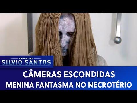 Menina Fantasma no Necrotério Ghost Girl in the Morgue Câmera Escondida 19 02 17