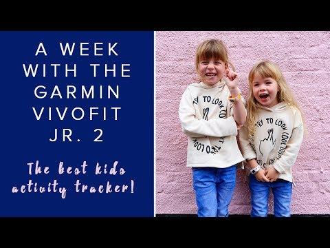 A WEEK WITH THE GARMIN VIVOFIT JR.2 ACTIVITY TRACKER (SO MUCH FUN!) #AD