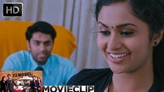 72 Model | Malayalam Movie 2013 | Romance Scene Govind Padmasoorya With Nazreen Nazar [HD]