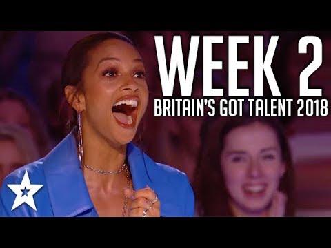 Xxx Mp4 Britain S Got Talent 2018 WEEK 2 Auditions Got Talent Global 3gp Sex
