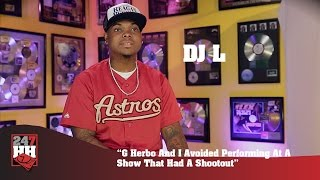 DJ L - G Herbo And I Avoided Performing At A Show That Had A Shootout (247HH Wild Tour Stories)